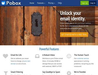 Thumbshot of Pobox.com