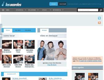 losacordes.com screenshot