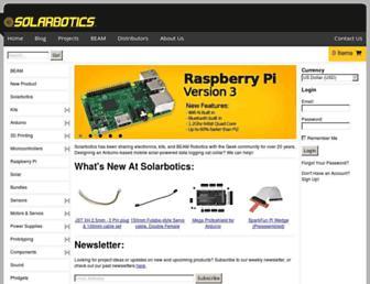 Thumbshot of Solarbotics.com