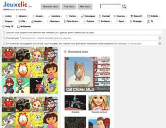 jeuxclic.com screenshot