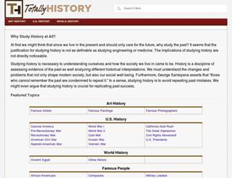 Thumbshot of Totallyhistory.com