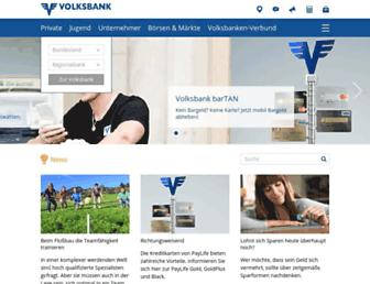 volksbank.at screenshot