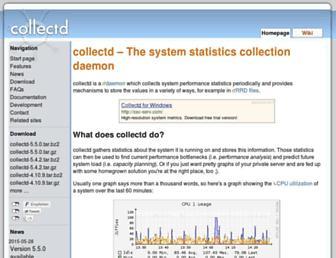 Thumbshot of Collectd.org