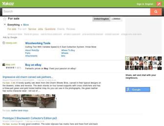 for-sale.yakaz.co.uk screenshot
