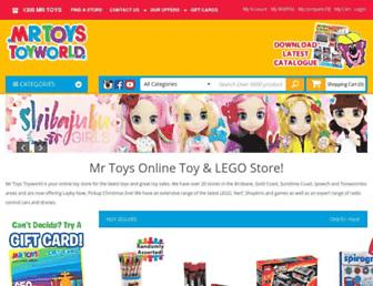 mrtoys.com.au screenshot