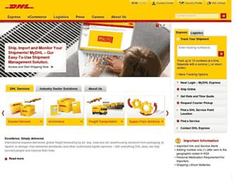 Thumbshot of Dhl.com.sa