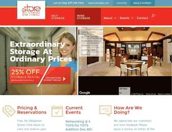 storeselfstorage.com screenshot