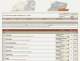 cellar.org screenshot