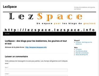 Thumbshot of Lezspace.info