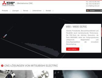 mitsubishi-cnc.de screenshot