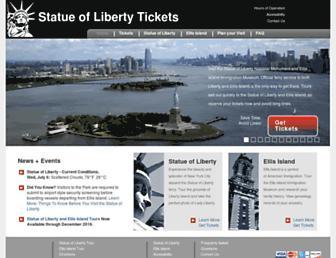Thumbshot of Statueoflibertytickets.com