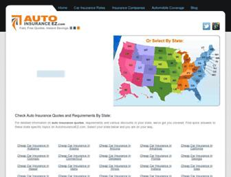 autoinsuranceez.com screenshot