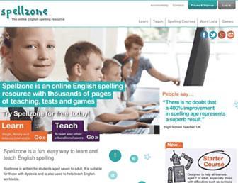 spellzone.com screenshot