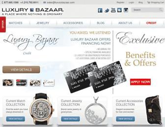 Thumbshot of Luxurybazaar.com