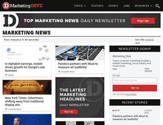 marketingdive.com screenshot