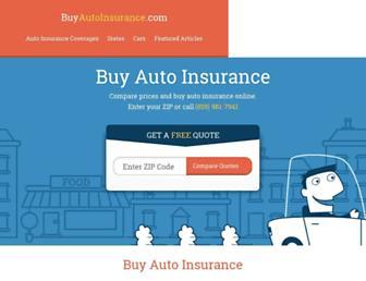 buyautoinsurance.com screenshot