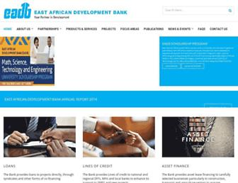eadb.org screenshot