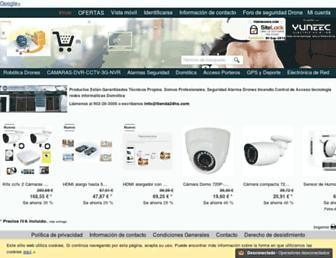 tienda24hs.com screenshot