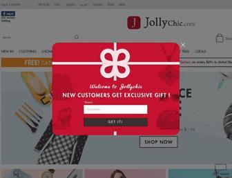 jollychic.com screenshot