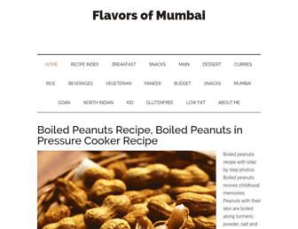 Thumbshot of Flavorsofmumbai.com