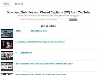 yousubtitles.com screenshot