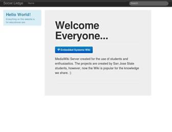 socialledge.com screenshot