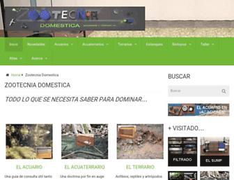 zootecniadomestica.com screenshot