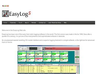 easylog.com screenshot