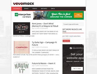 vevomack.com screenshot