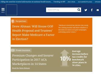 kff.org screenshot