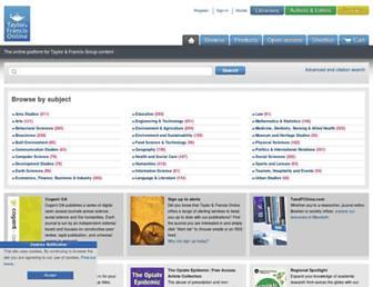 Thumbshot of Informahealthcare.com