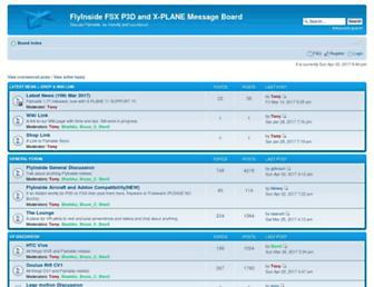 forum.flyinside-fsx.com screenshot