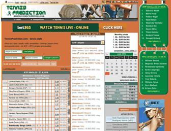 tennisprediction.com screenshot