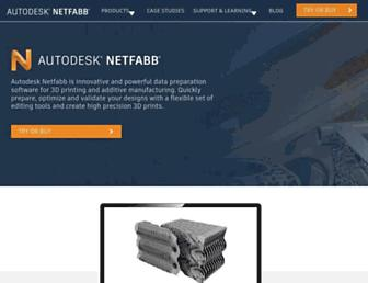 Thumbshot of Netfabb.com