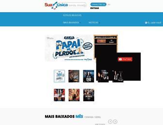 suamusica.com.br screenshot