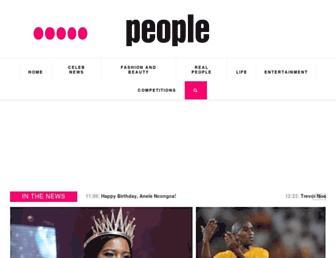 peoplemagazine.co.za screenshot
