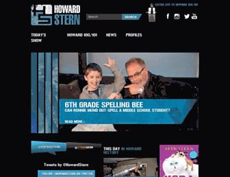 Thumbshot of Howardstern.com