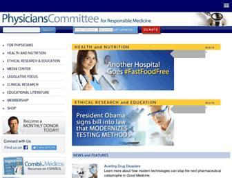 Thumbshot of Pcrm.org