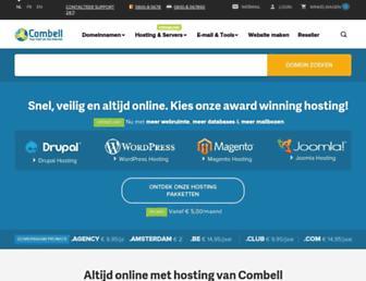 Thumbshot of Combell.com