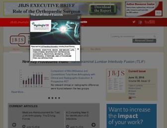 Thumbshot of Jbjs.org