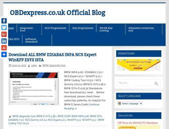 blog.obdexpress.co.uk screenshot