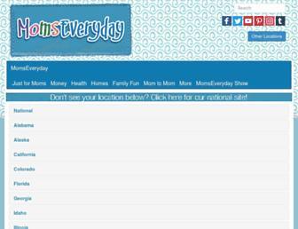 momseveryday.com screenshot