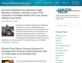 propertycasualtyfocus.com screenshot
