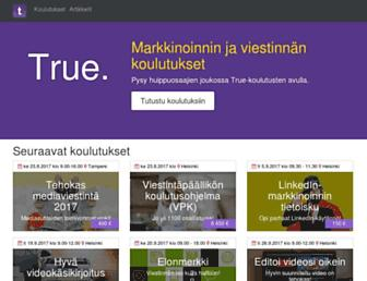 true.fi screenshot