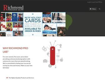 richmondprolab.com screenshot