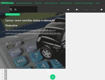 dinheirama.com screenshot