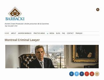 barbacki.com screenshot