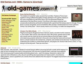 old-games.com screenshot