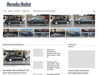 mercedes-market.com screenshot