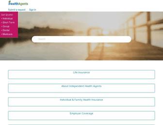 help.ihealthagents.com screenshot